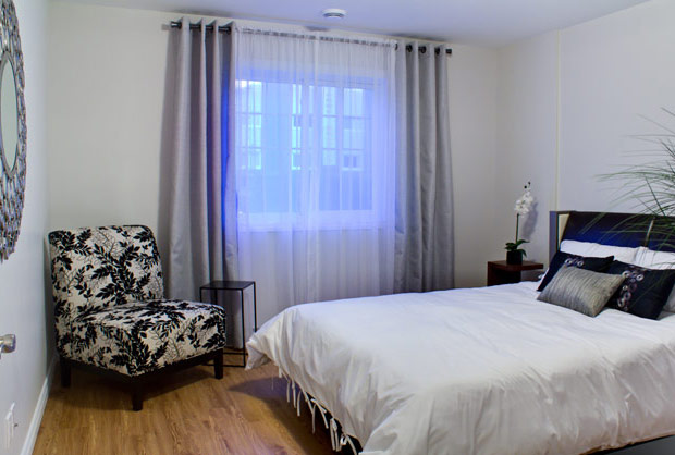 Chambre - Logement de luxe à louer - Sherbrooke
