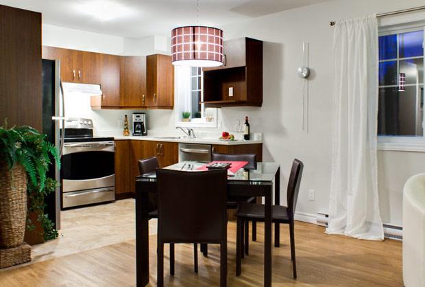 Cuisine - Appartement 4 et demi - 3 et demi - Estrie