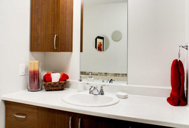 Salle de bain - Location appartements à Sherbrooke