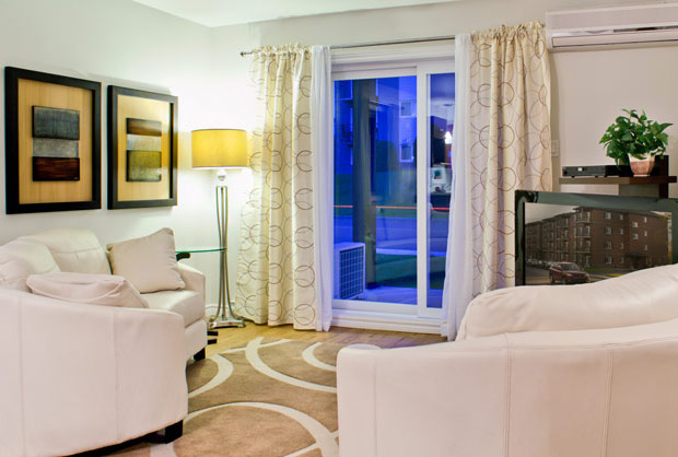 Salon - Appartement à louer à Sherbrooke