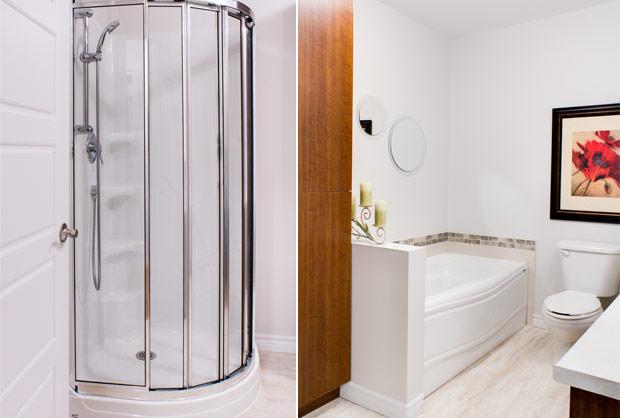 Salle de bain - Location logements à Sherbrooke