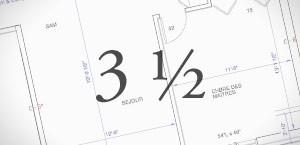 location 3 et demi - Sherbrooke